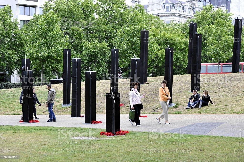 New Zealand War Memorial, London royalty-free stock photo