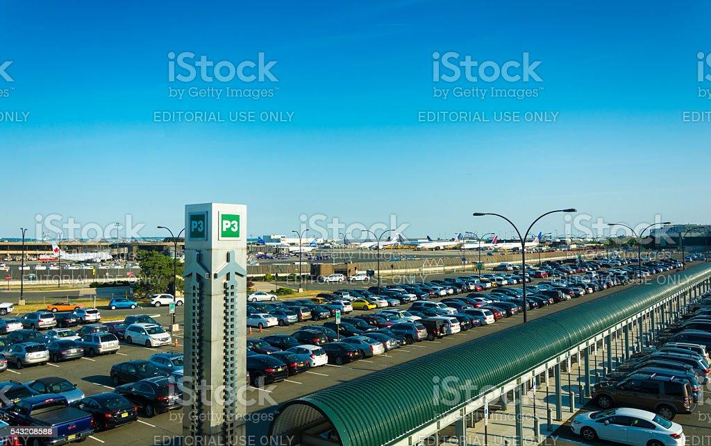 Newark Airport stock photo