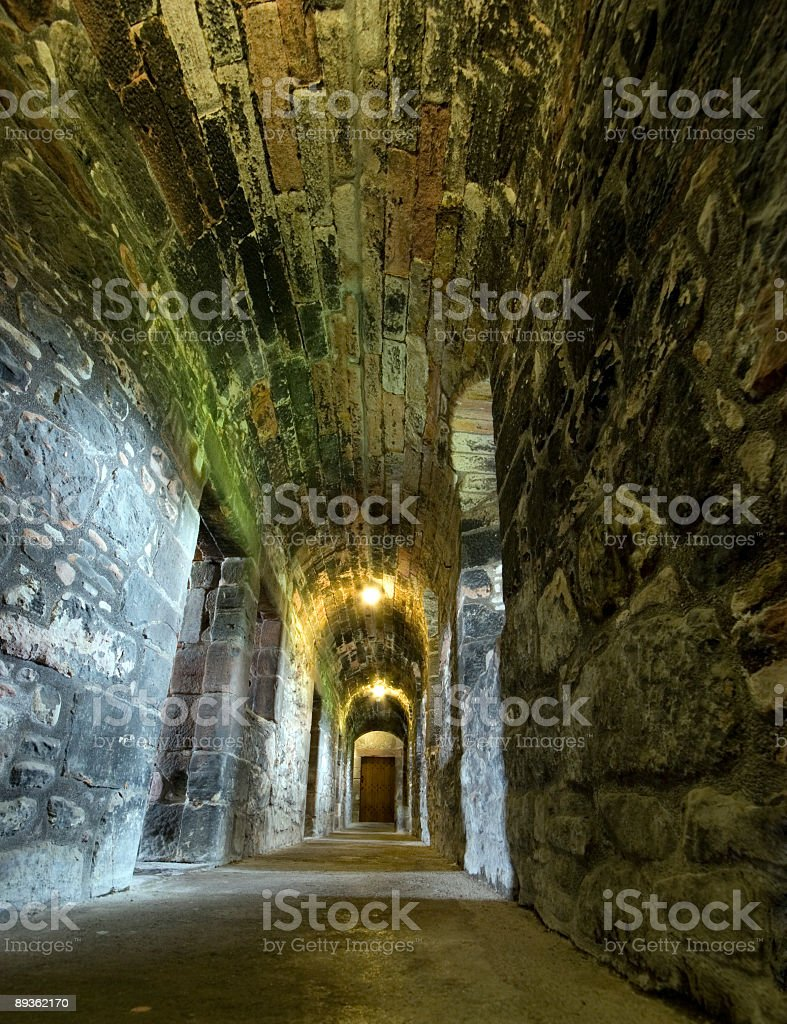 Newark Castle Interior royalty-free stock photo