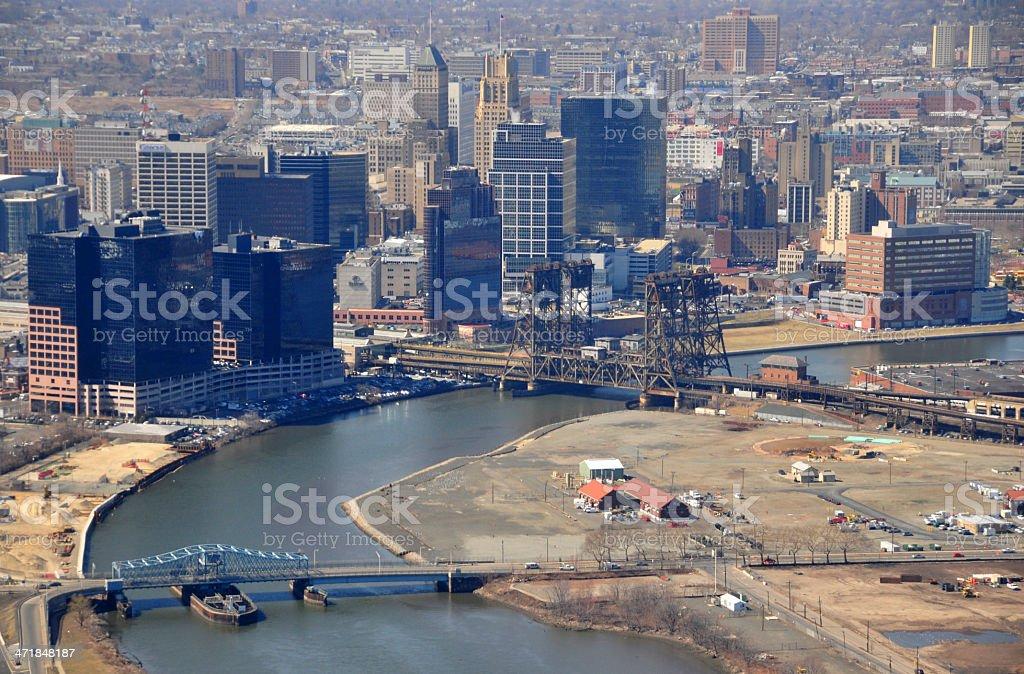 Newark, Essex County, New Jersey, USA: downtown stock photo