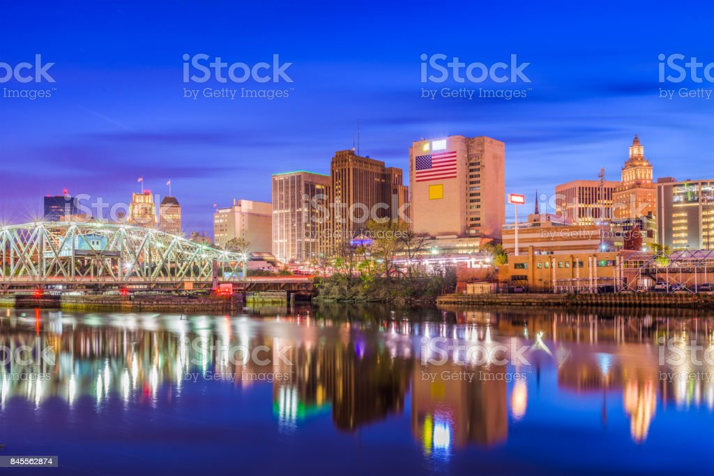 Newark New Jersey USA stock photo