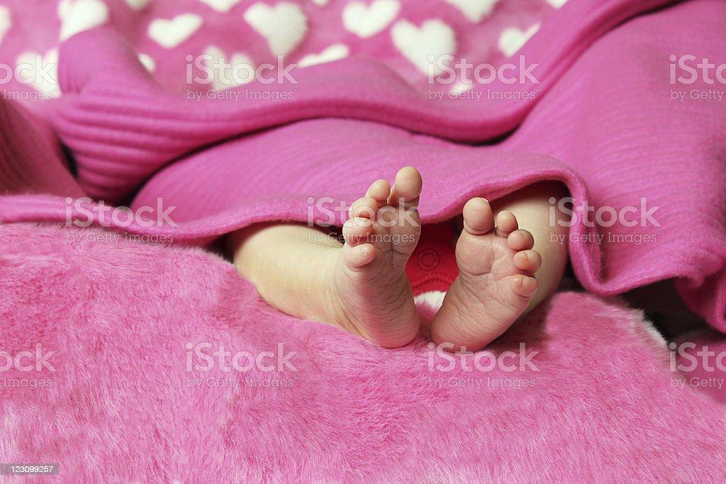 Recién nacido bebé cuadrados - foto de stock