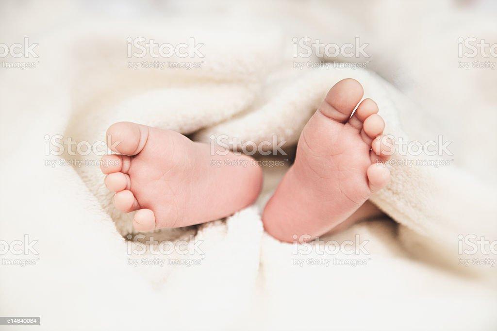 Newborn Baby Feet Pic