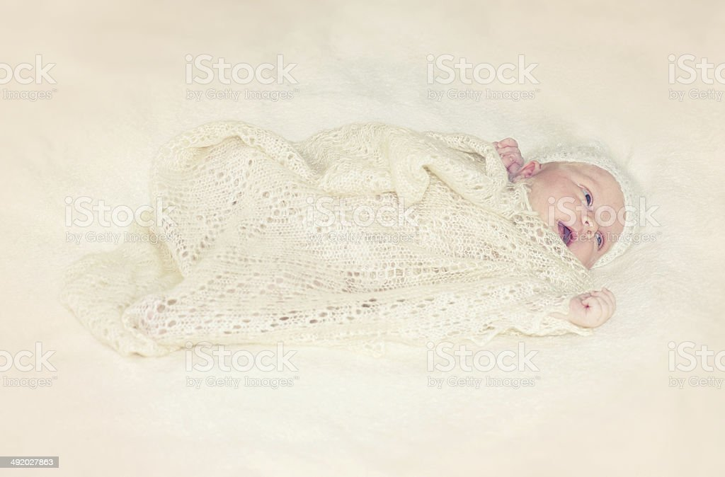 Newborn Baby Girl royalty-free stock photo