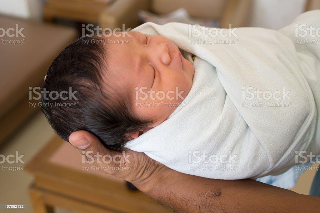 Newborn baby foto