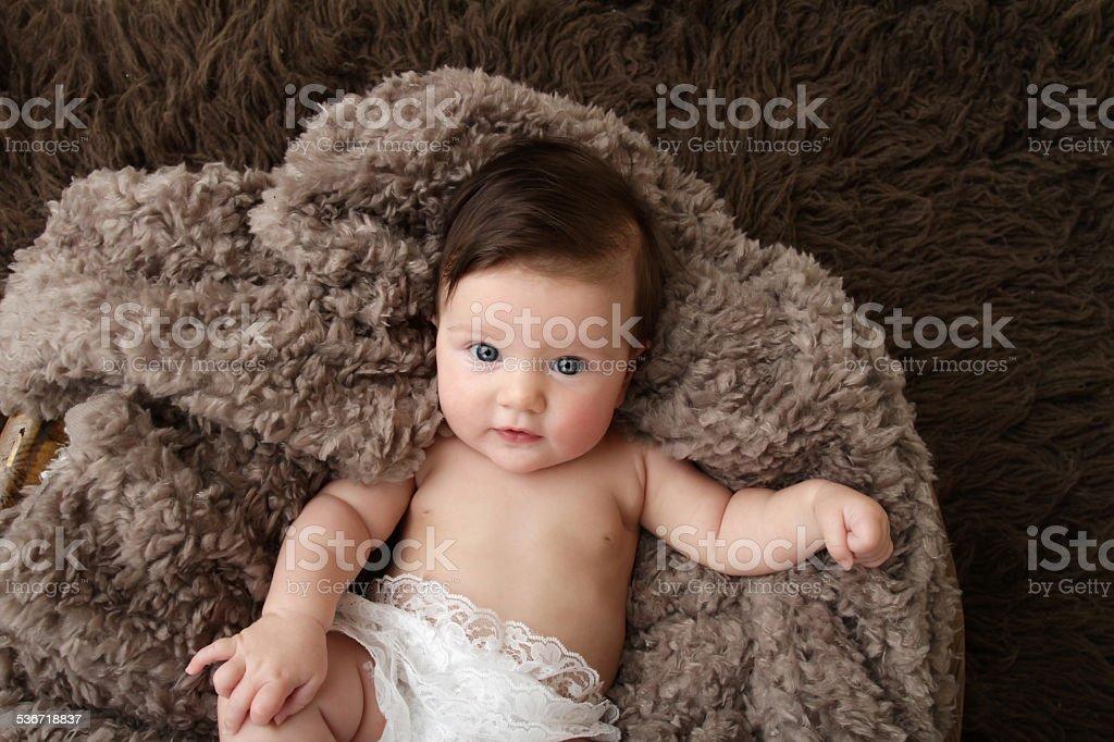 Newborn Baby stock photo