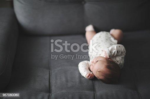 853843596 istock photo Newborn baby 957080080