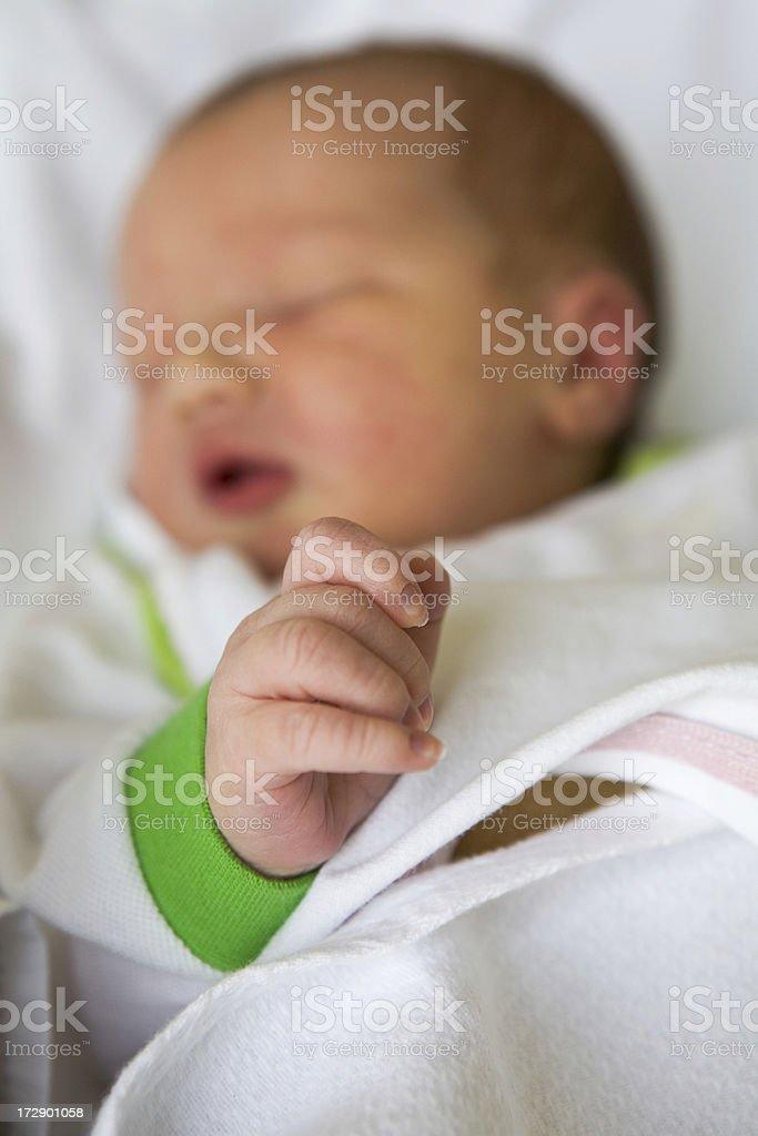 Newborn royalty-free stock photo