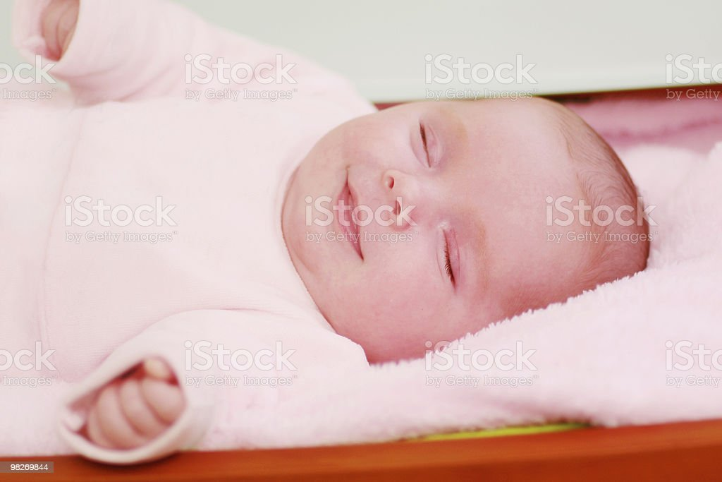 Neonato foto stock royalty-free