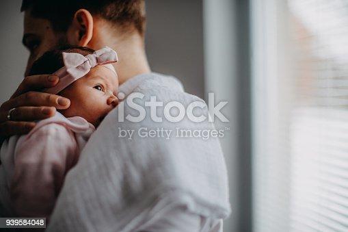 Newborn with Father