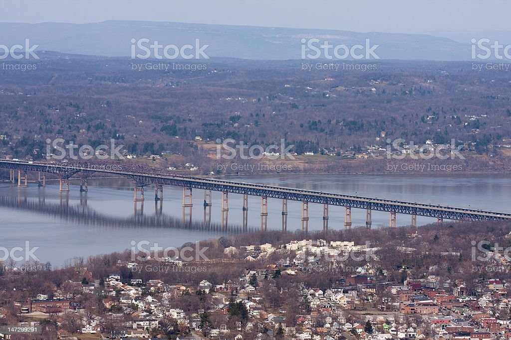 Newburgh Beacon Bridge stock photo
