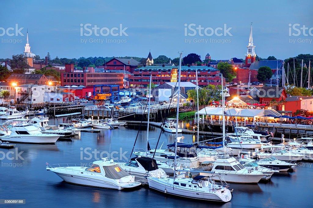 Newburyport, Massachusetts stock photo