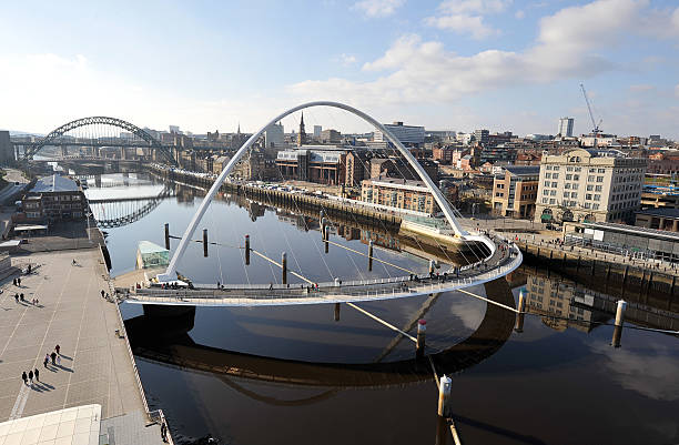 newcastle and gateshead - gateshead stock photos and pictures