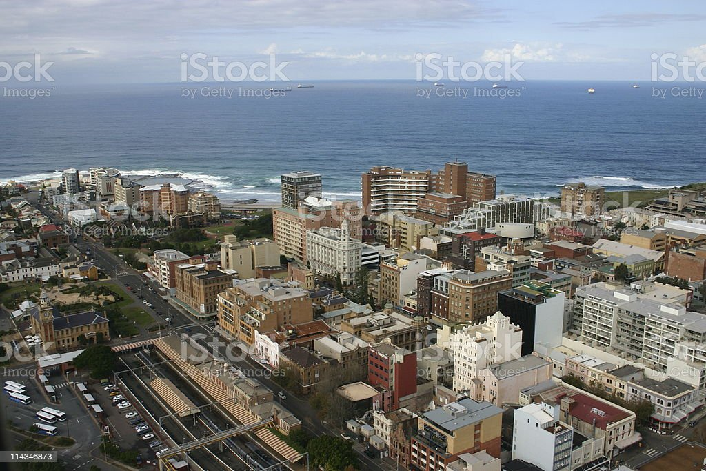 Newcastle City stock photo