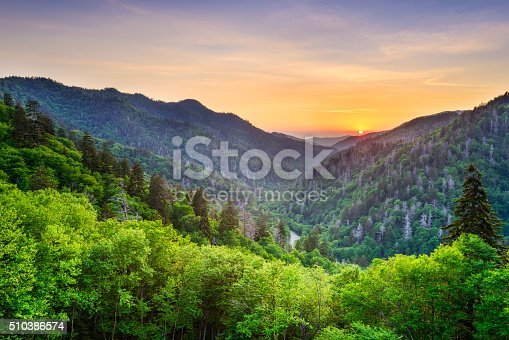 istock Newfound Gap in the Smoky Mountains 510386574