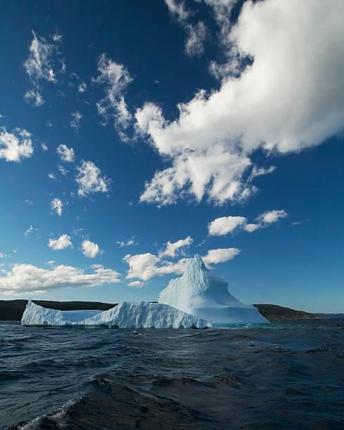 Newfoundland Iceberg #1 stock photo
