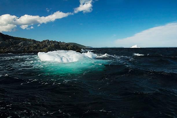 Newfoundland Iceberg #2 stock photo