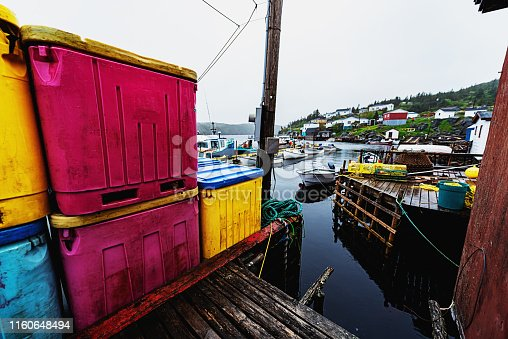 The small outport town of LaPoile, on Newfoundland's South coast.