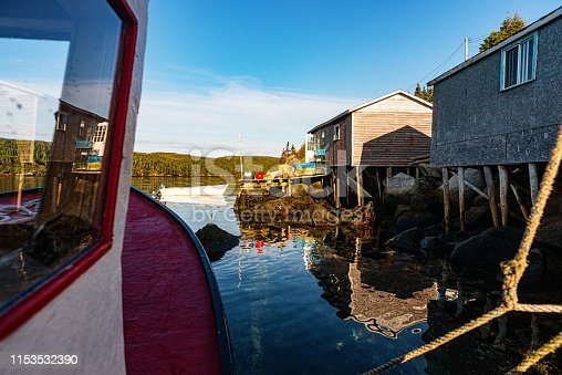 The remote Newfoundland outport village of LaPoile.