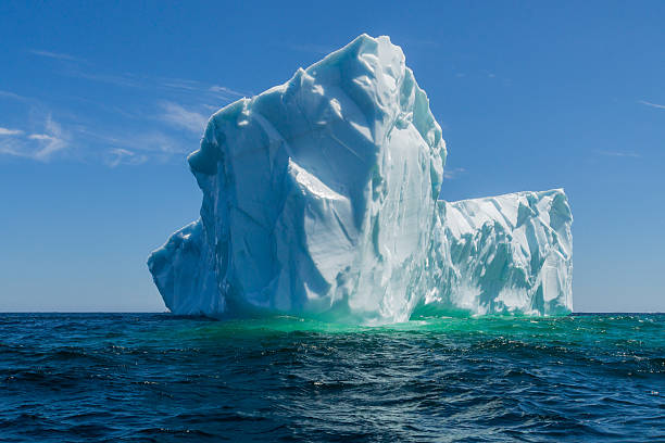 newfoundland tick icebergs off the bucket list - iceberg stock photos and pictures