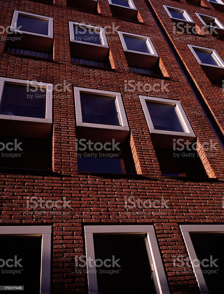Newly Build Apartments royalty-free stock photo