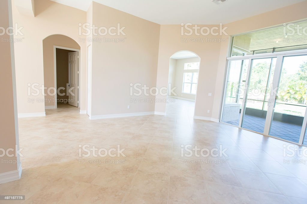Newly Built Modern Home With Empty Rooms Stock Photo Download Image Now Istock