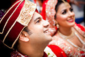 istock Newly married Asian couple 472079559
