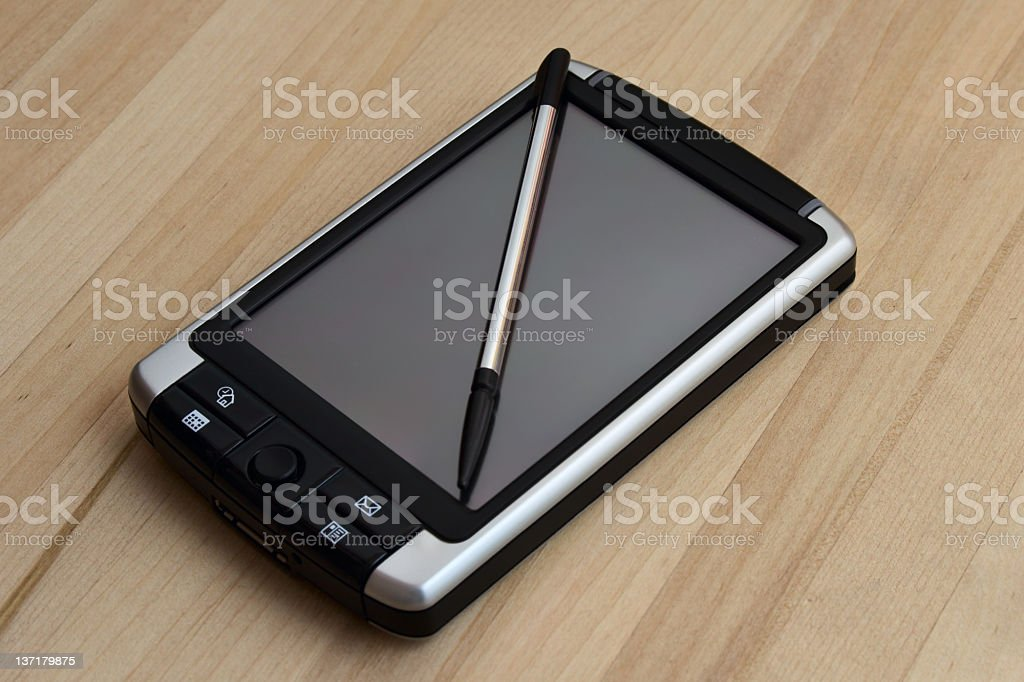 Newly Mobile PC royalty-free stock photo