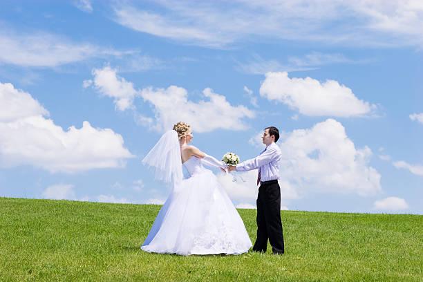 Frisch verheiratete Paare – Foto