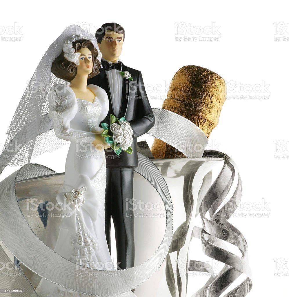 Newlyweds 4 royalty-free stock photo
