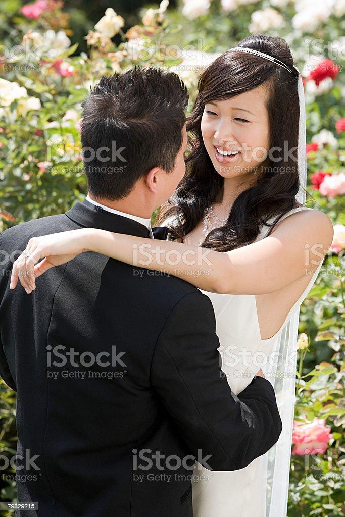 신혼부부에게 royalty-free 스톡 사진