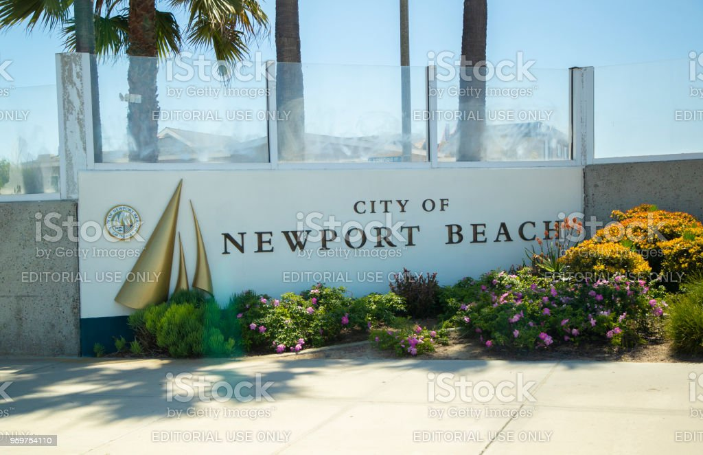 Newport Beach stock photo
