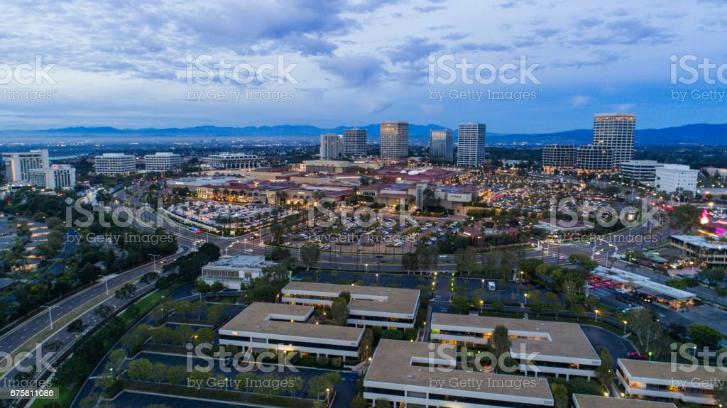 Newport Beach Skyline, Orange County - foto de stock