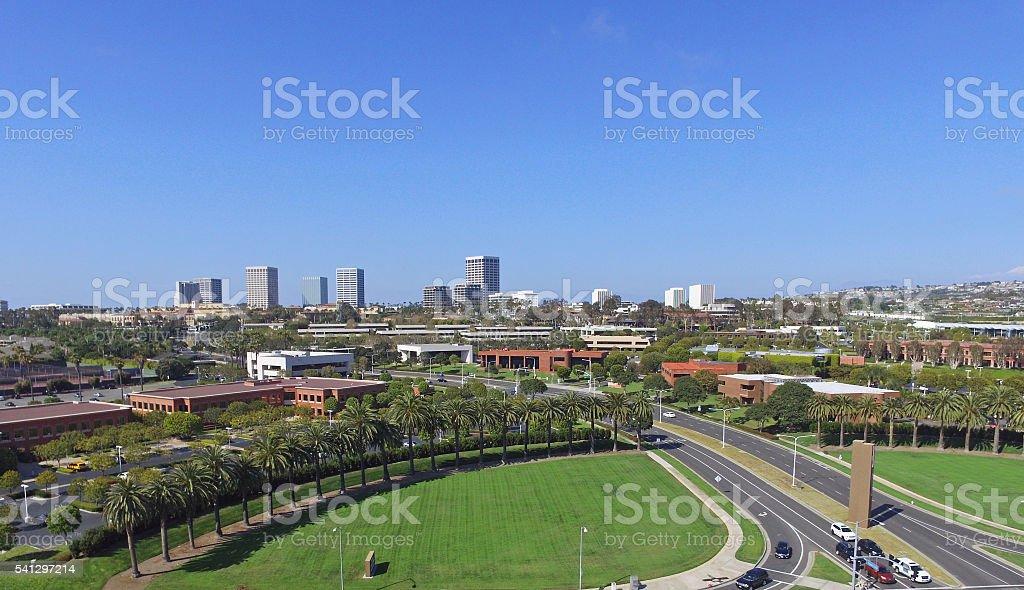 Newport Beach Skyline stock photo