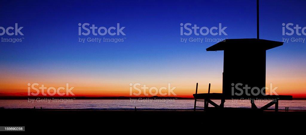 Newport beach sunset-Wieża 22 – zdjęcie