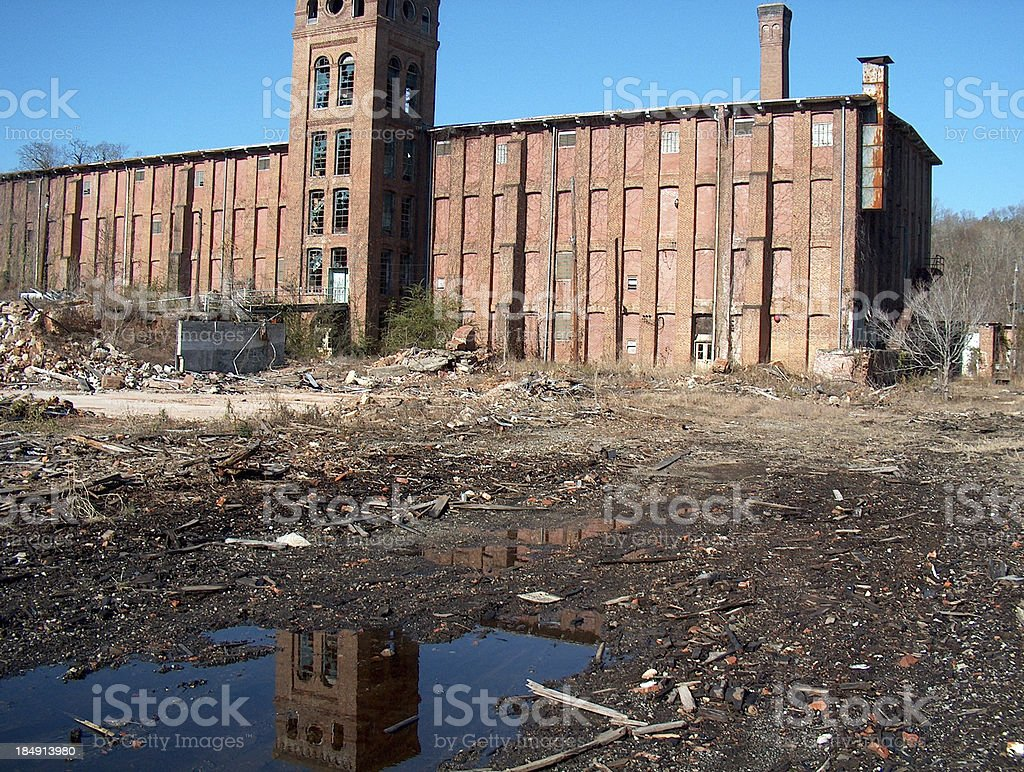 Newry Mill Lanscape Version stock photo