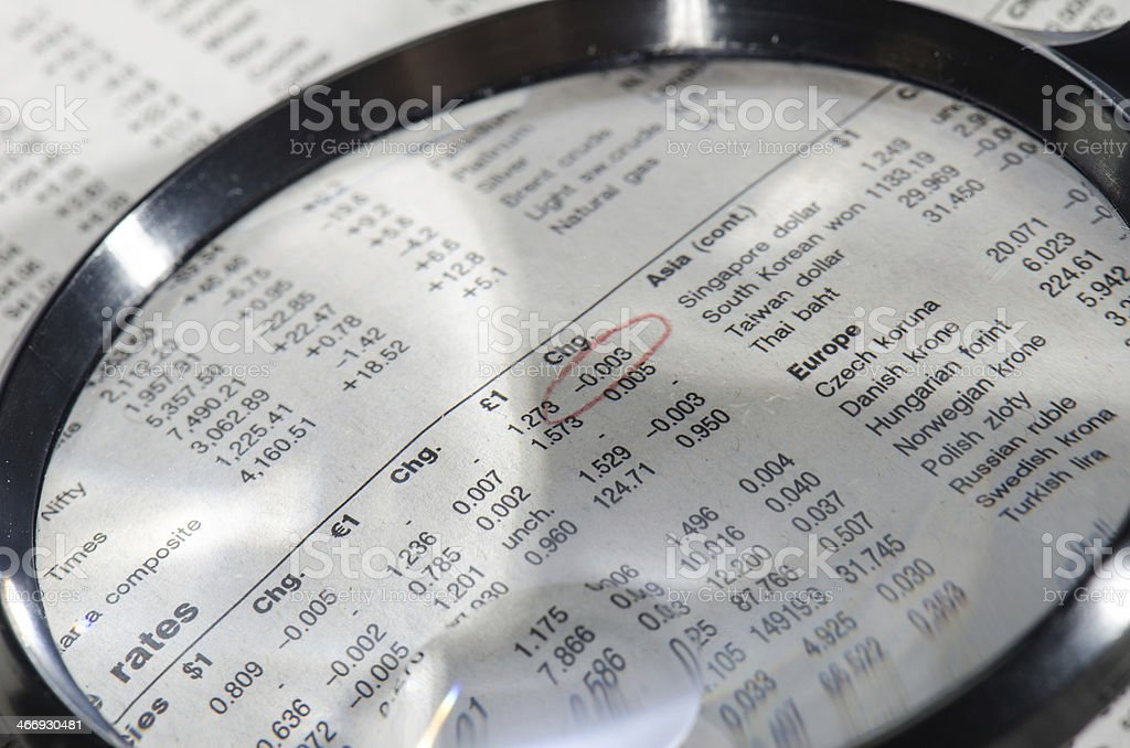 News about stock market royalty-free stock photo