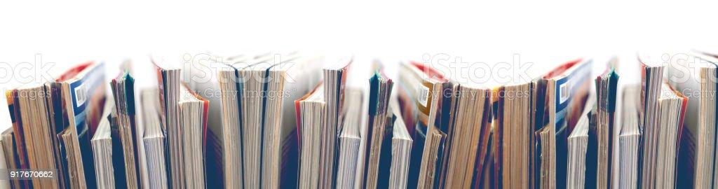 News und Journal. Unterhaltung und Freizeit - Lizenzfrei Artikel - Publikation Stock-Foto