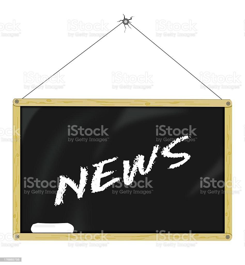 News Board stock photo