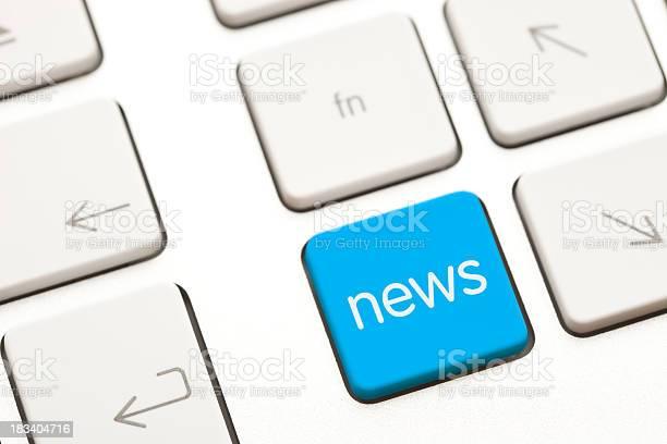 News Computer Schlüssel Stockfoto und mehr Bilder von Bedienungsknopf