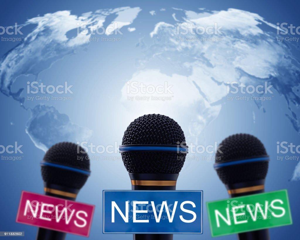 News Concept Background stock photo