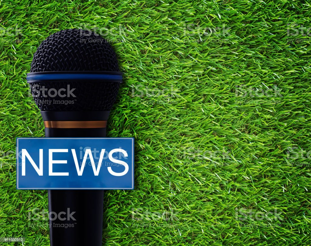 News Concept Background stock photo