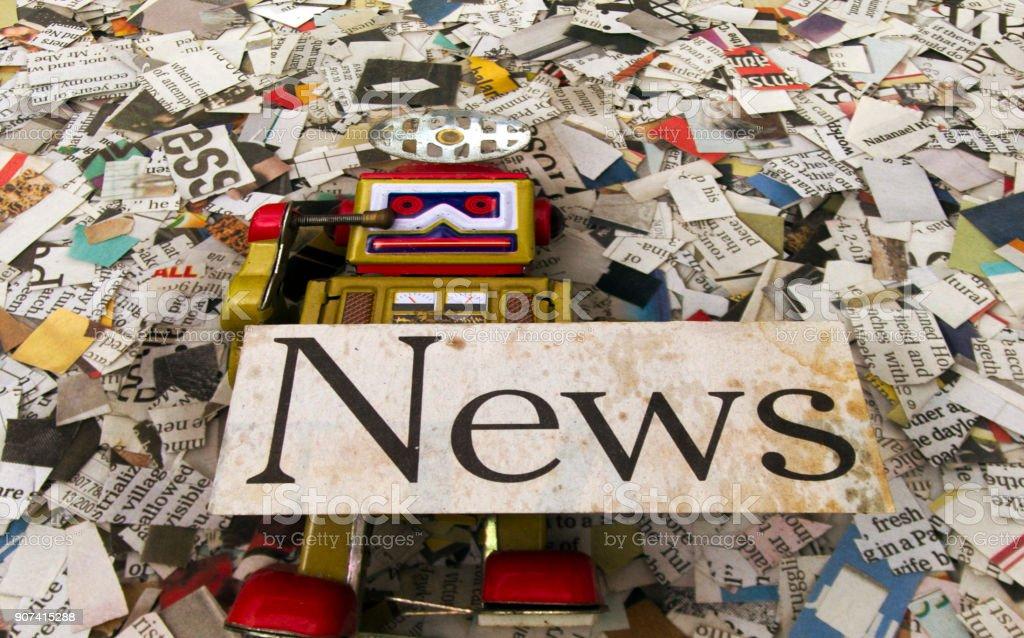 News concept stock photo