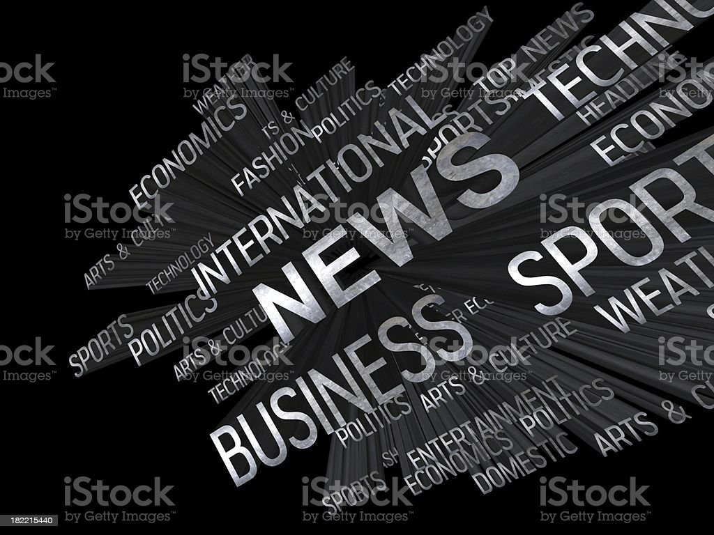 News design royalty-free stock photo
