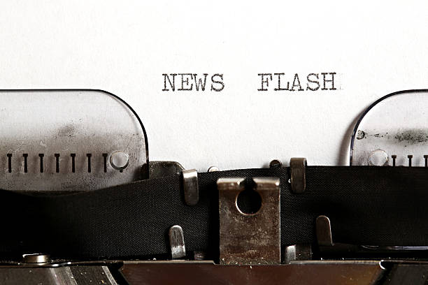 news flash - flash stock photos and pictures
