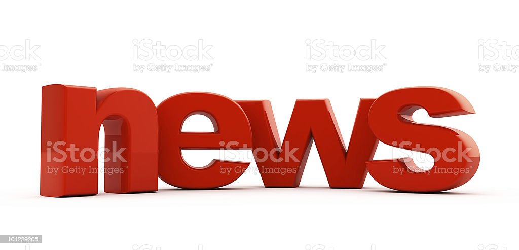 News headline. royalty-free stock photo