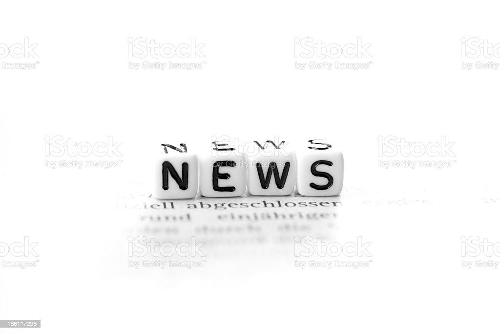 News, Informationen stock photo