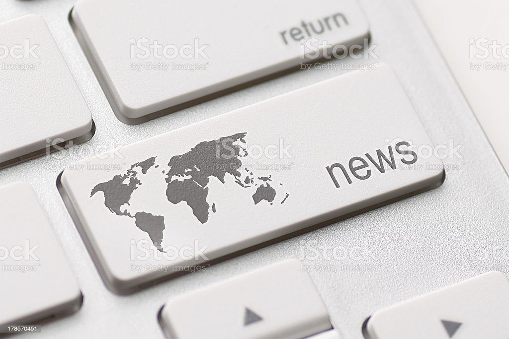 news key stock photo