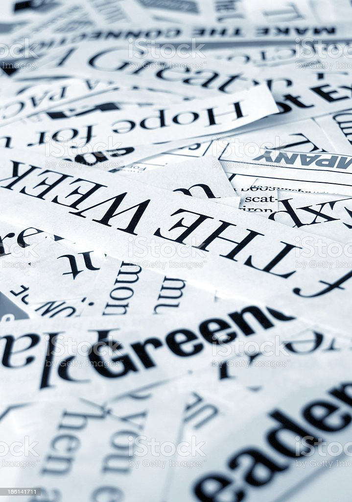 News Paper royalty-free stock photo