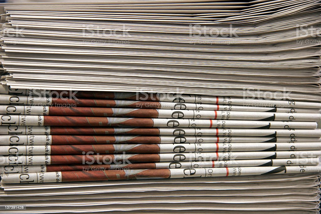 News papers royalty-free stock photo